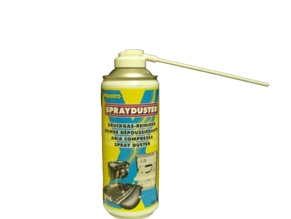 compressed air for cleaning keyboard of personal computer