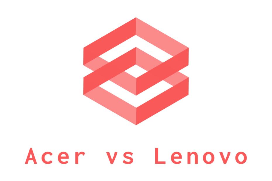 Acer vs Lenovo laptop